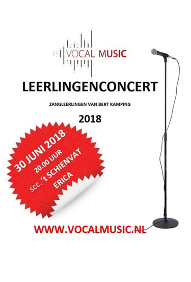 30 juni 2018 — Leerlingenconcert Vocal Music