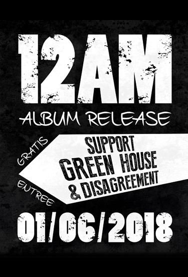 1 juni — 2018 EP Release van 12AM